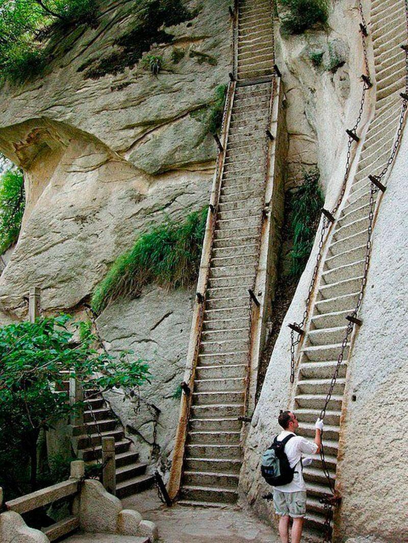 Лестница на гору Хуашань