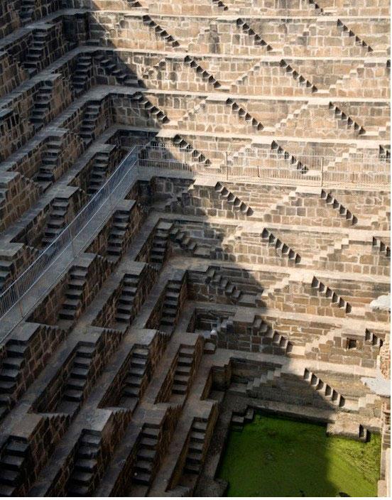 Лестницы индийских колодцев