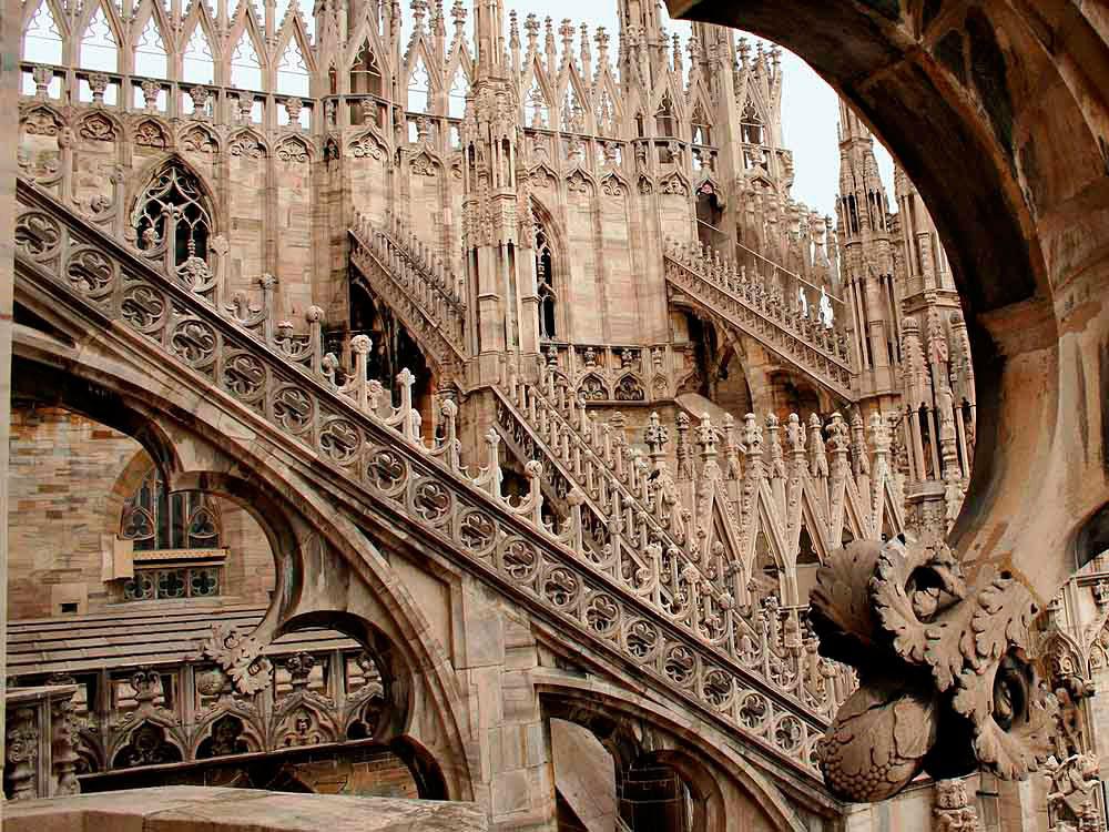 Лестница Миланского Собора