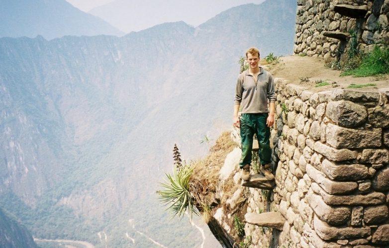 Необычная лестница вблизи города Морей