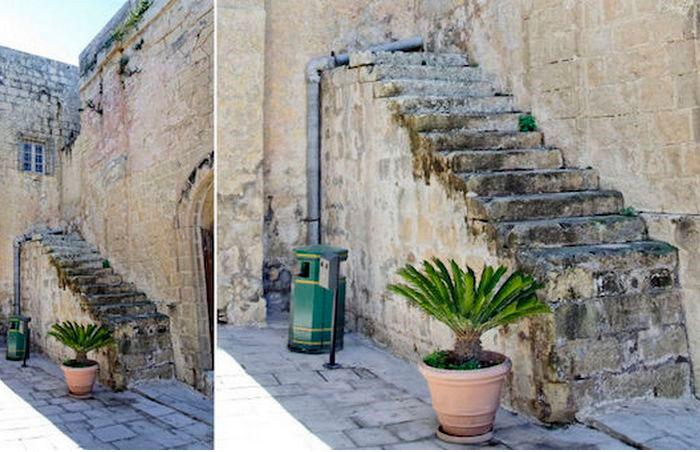 лестницы на Мальте