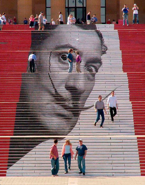 Лестница к Музею искусств в Филадельфии