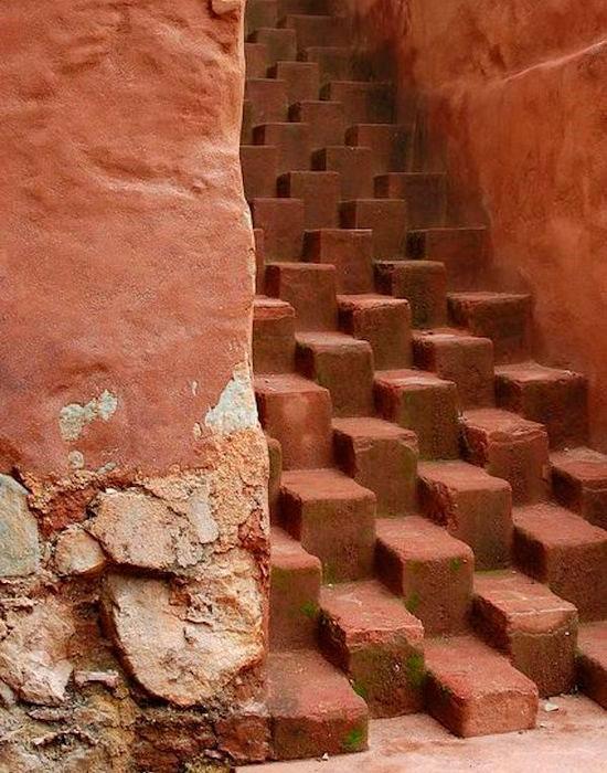 Лестница в Оахака-де-Хуарес