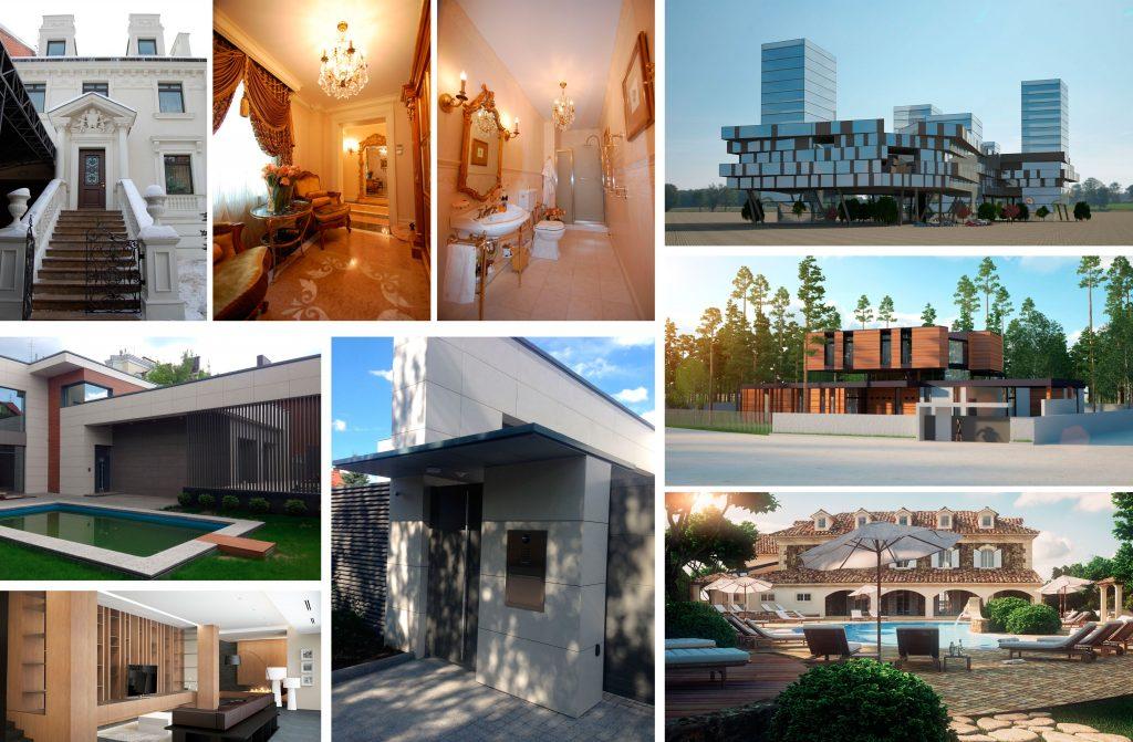 архитектура и дизайн от студии - ARHITECTURAL STUDIO R
