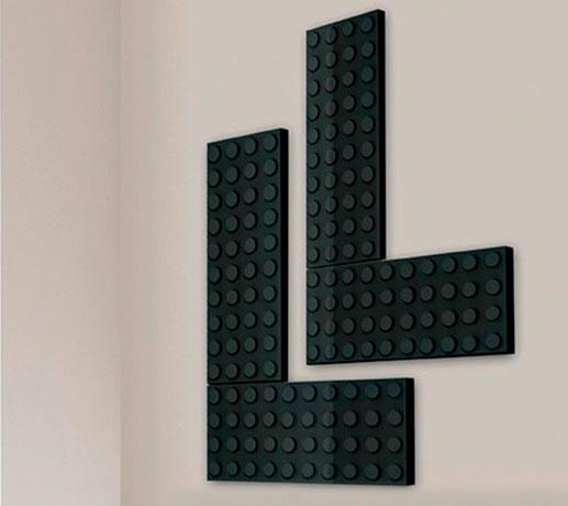 необычные радиаторы LEGO