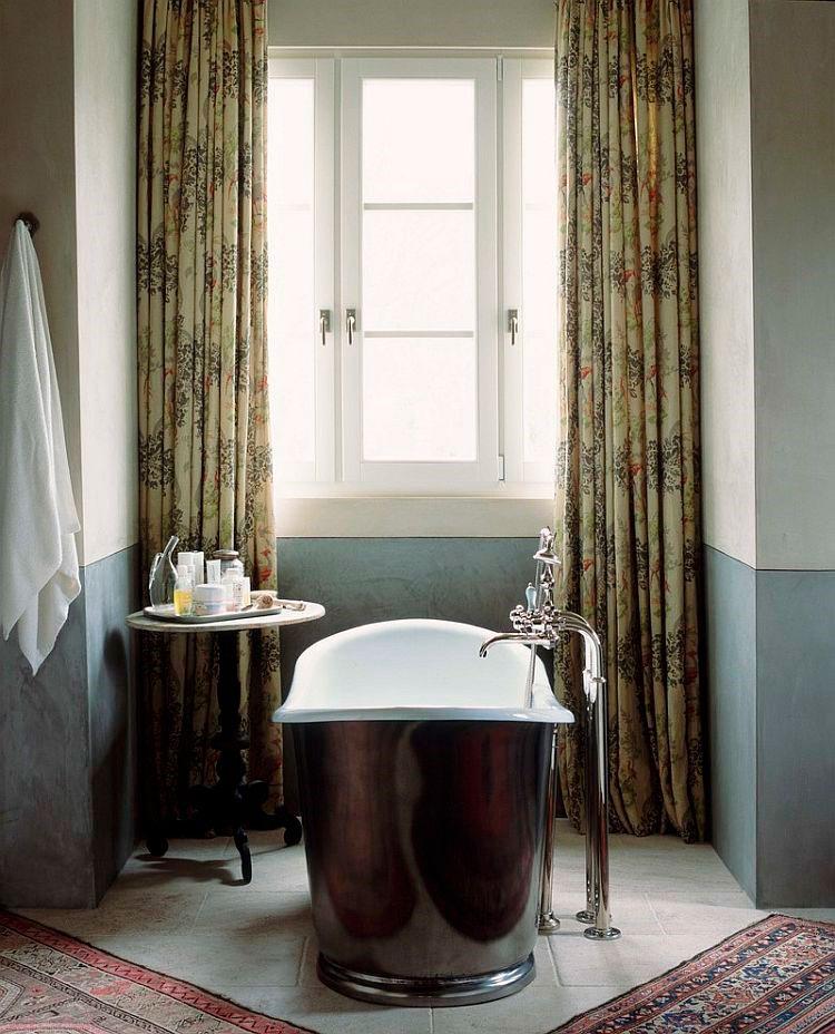 Глянец добавляет традиционной ванной элегантности