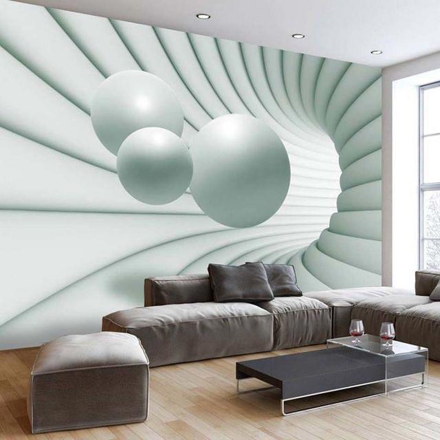 увеличение комнаты объемным изображением