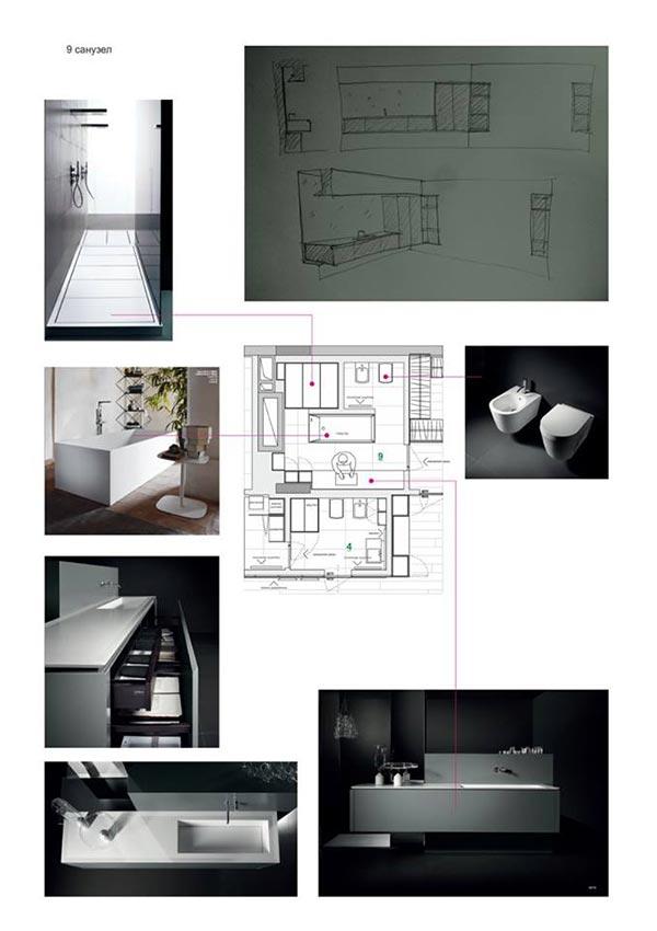 образец части проекта студи дизайна и архитектуры Architectural Studio R