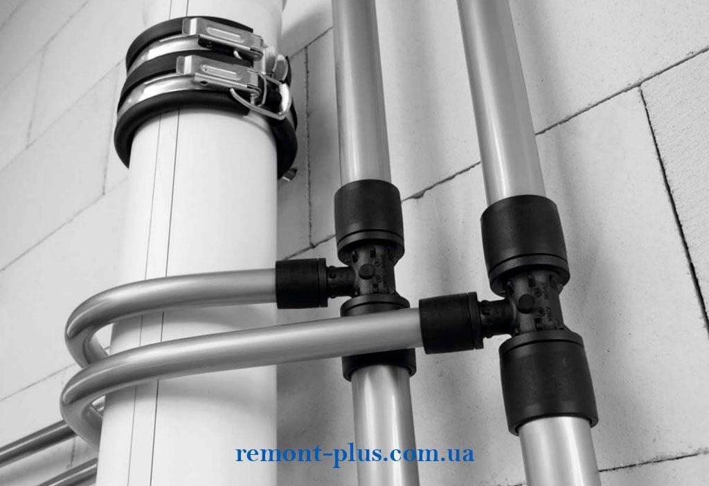материал для водопровода, по технологии REHAU - сшитый полиэтилен