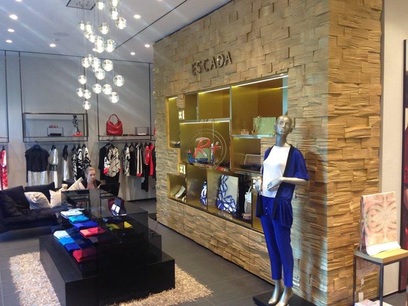 Моно-бутик брендовой одежды Escada