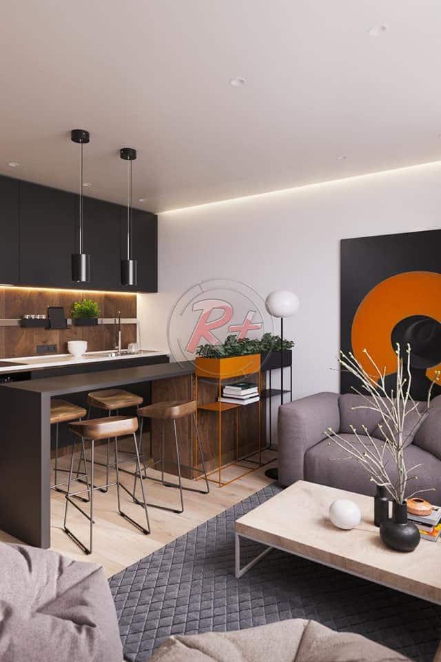 Фото интерьера (зона кухни)