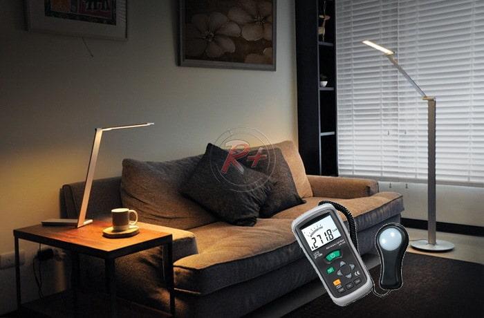 Прибор (люксметр) для измерения уровня освещение комнаты