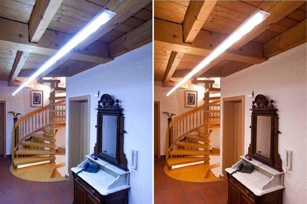 метамеризм - при искусственном освещении с определёнными параметрами, цвета двух окрашенных образцов неотличимы