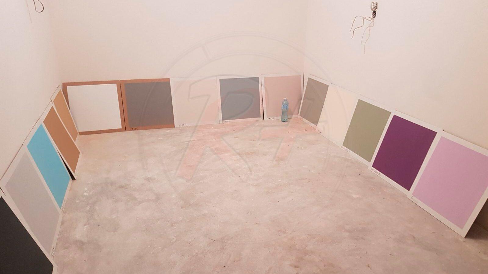 краска для стен выкраска