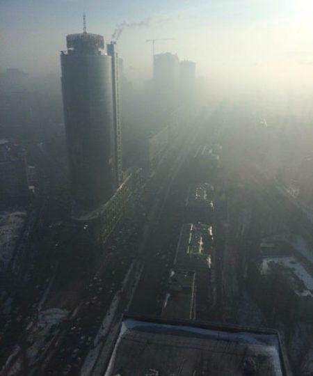 Смог над Киевом