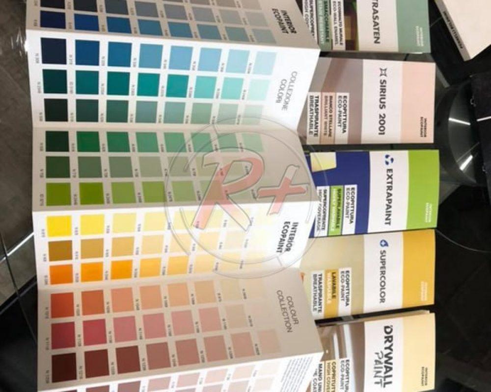 Выкрасы образцов красок (фото-образец №3)